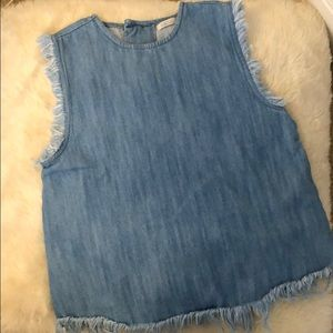Jeans blouse - new
